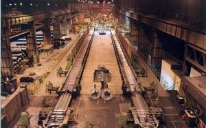Arcelor amenaza con cerrar el tren de alambrón
