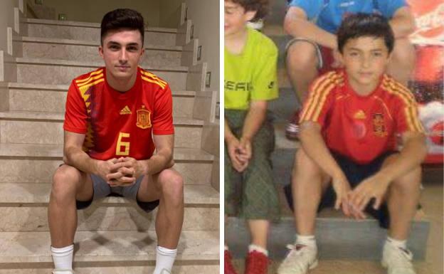 Manu García, el sueño cumplido de un niño