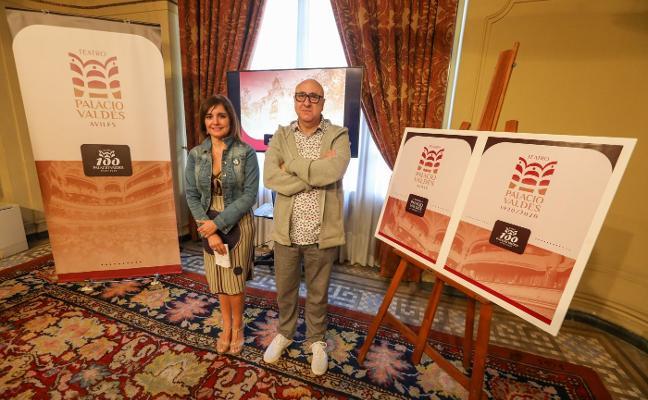 El Palacio Valdés inicia la celebración de su centenario estrenando logotipo