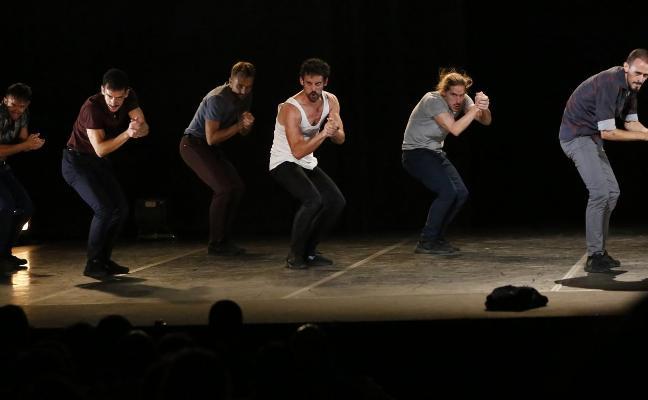 El peso de ser hombre, apertura de Danza Xixón