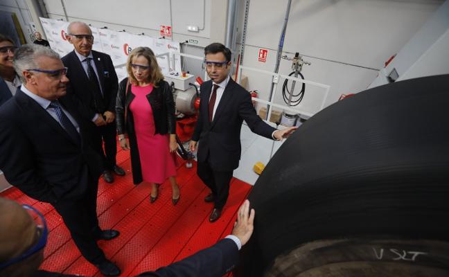 Baldajos invierte tres millones en una planta de neumáticos «única en España»