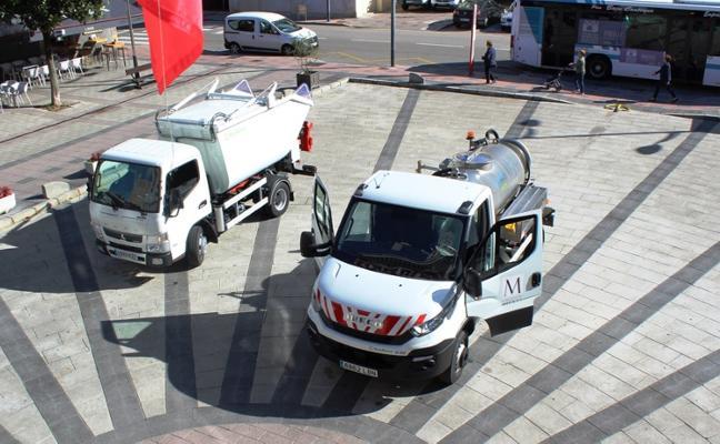 Mieres refuerza la flota de vehículos de limpieza para la zona rural