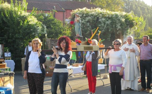 La parroquia de Amandi, de fiesta en honor a la Virgen de los Remedios