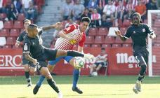 Sporting 1 - 3 Alcorcón, en imágenes