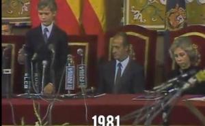 Emotivo vídeo de la Fundación Princesa de Asturias dedicado al Rey