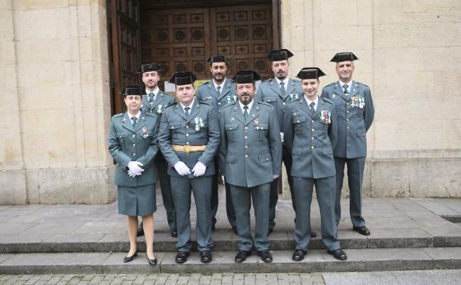La Guardia Civil «trabaja» en la unión de los cuarteles de Siero y Noreña