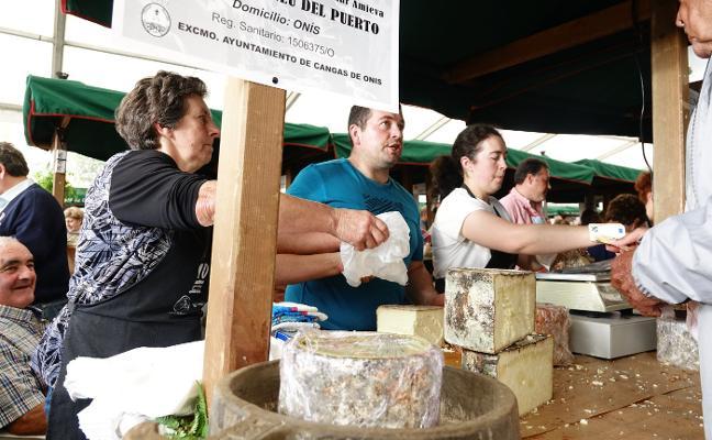 El Gamonéu del Puertu a un precio récord: 45 euros el kilo
