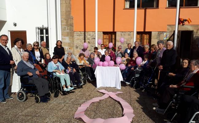 Los mayores cangueses, contra el cáncer de mama