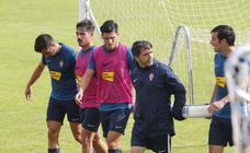 Entrenamiento del Sporting (13-10-2019)