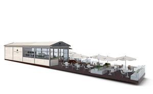 Así será la nueva terraza de los Jardines de la Reina