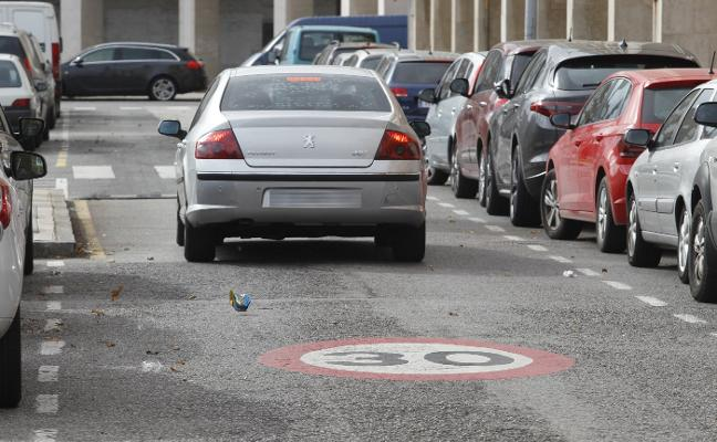 Las calles con un único carril por sentido estarán limitadas a 30 kilómetros por hora en Gijón