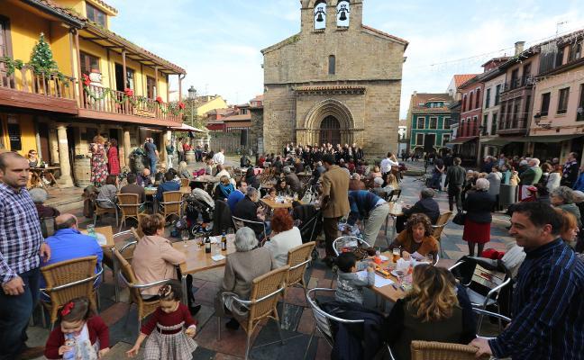 El Carbayedo, Sabugo y El Quirinal, las zonas con más terrazas hosteleras