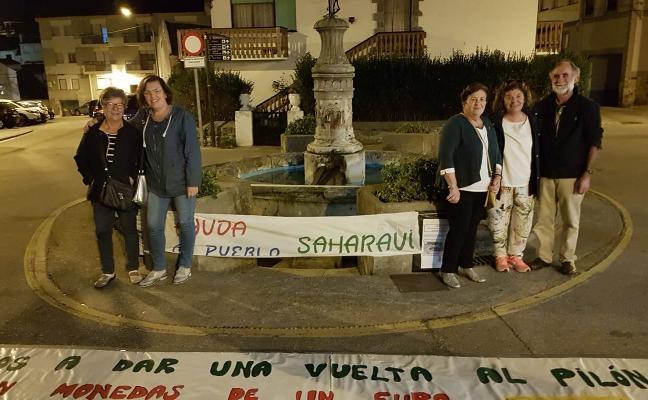 Tapia da la Vuelta al Pilón y logra 1.000 euros para los niños del Sáhara