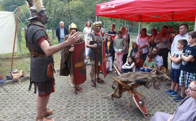 Los romanos toman la vía Carisa de Nembra