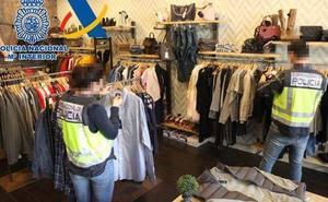 La Policía interviene en Avilés una empresa ficticia de artículos fasificados