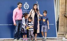 Salman Khan y Joanne Chory ya están en Oviedo