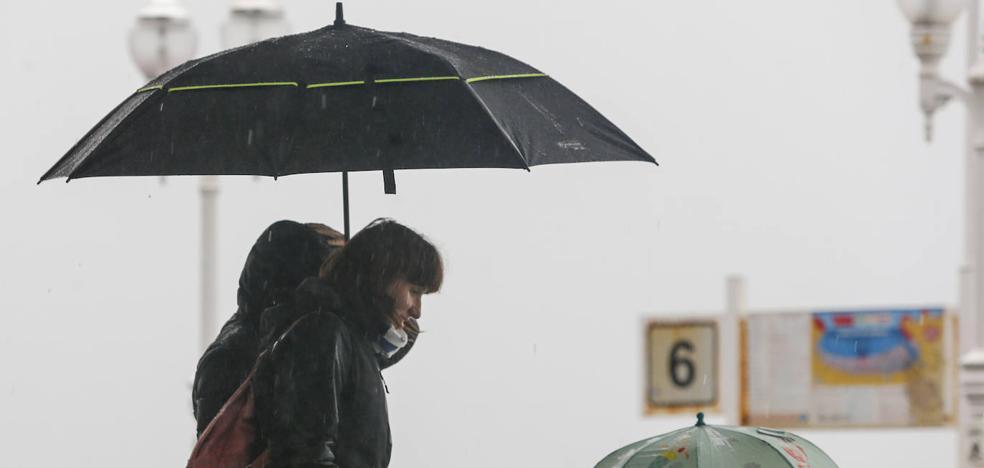 Asturias, en alerta por lluvias y fuerte oleaje