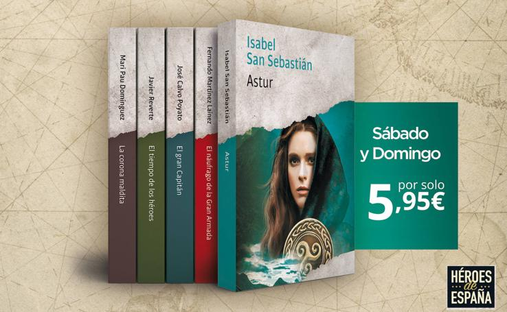 Colección de novelas ' Héroes de nuestra historia'