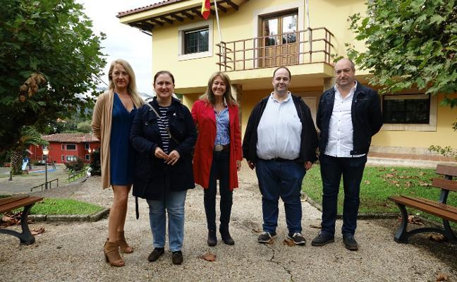 Paloma Gázquez visita Caravia