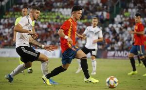 Manu García, suplente con la Sub 21 ante Montenegro