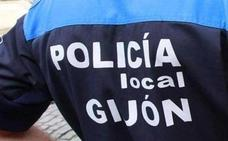 Detenido por conducir ebrio y accidentarse con un patinete en Gijón