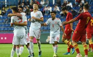 España Sub 21 brilla en Montenegro