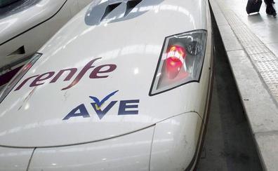 Interrumpido el AVE entre Barcelona y Figueres, en Girona, por un sabotaje en las vías
