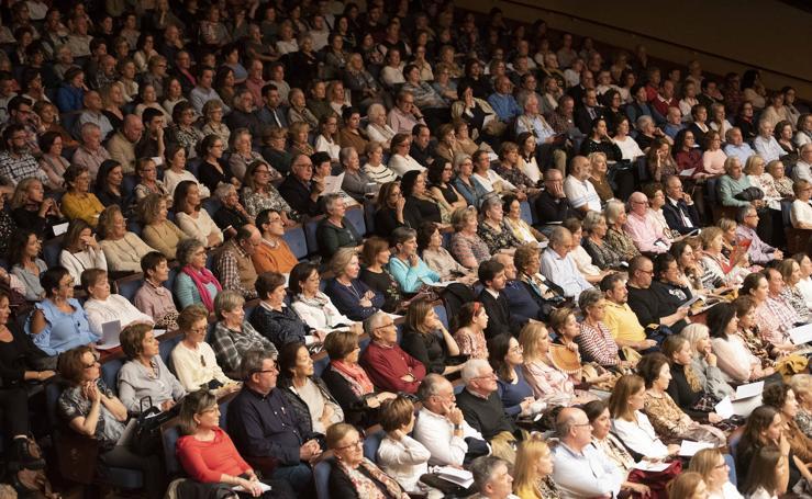 Lleno en el Auditorio para disfrutar del ensayo del concierto de los Premios