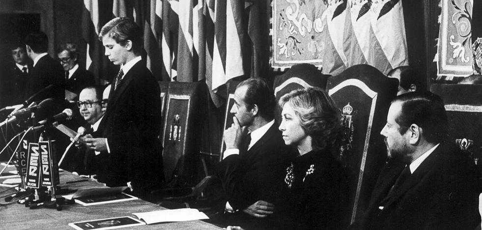 Premios Princesa de Asturias 2019 | El primer discurso del rey Felipe VI hace 38 años con «esperanza de futuro»