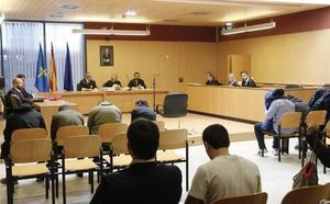 Los ultras acusados del altercado en un pub de Gijón reconocen los hechos y aceptan penas de prisión