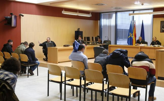Ocho ultra boys reconocen el ataque en La Folixa y aceptan las penas de prisión