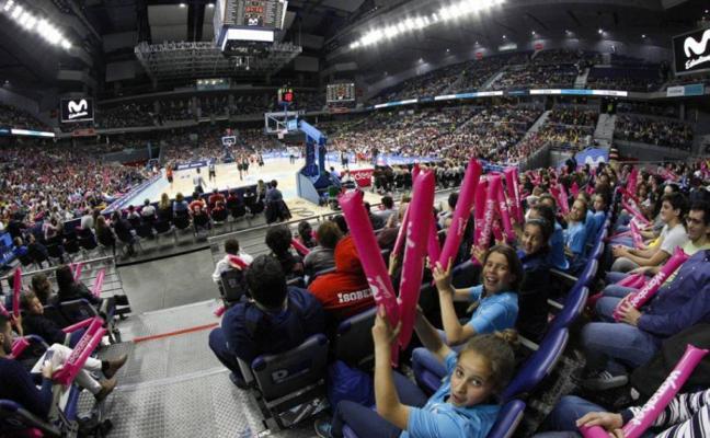 El Adba jugará ante 13.000 espectadores en Madrid