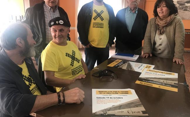 «Tememos que la línea de Gijón a Laviana acabe en El Berrón»