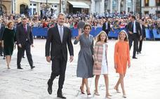 Doña Leonor, en Oviedo para sus primeros Premios Princesa de Asturias
