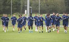 Entrenamiento del Real Oviedo (17-10)