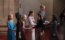 Premios Princesa de Asturias   La Princesa Leonor, «menos nerviosa de lo que esperaba» ante su primer discurso