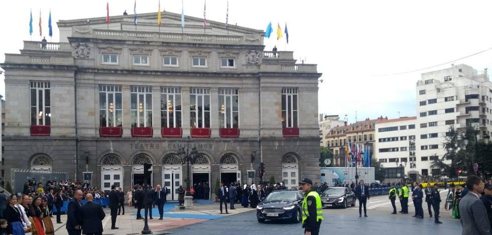 En directo: ceremonia de los Premios Princesa de Asturias