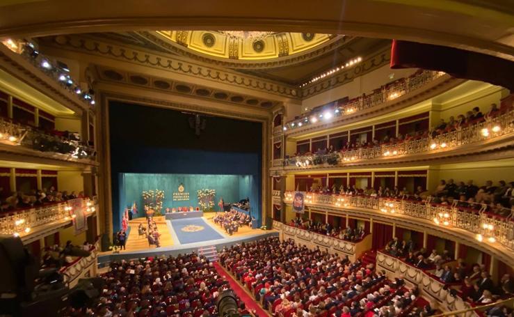 Las imágenes de la ceremonia de entrega de los Premios Princesa de Asturias