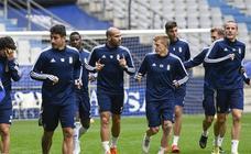Entrenamiento del Real Oviedo (18-10-2019)