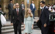 La Princesa de Asturias se estrena como protagonista en los Premios
