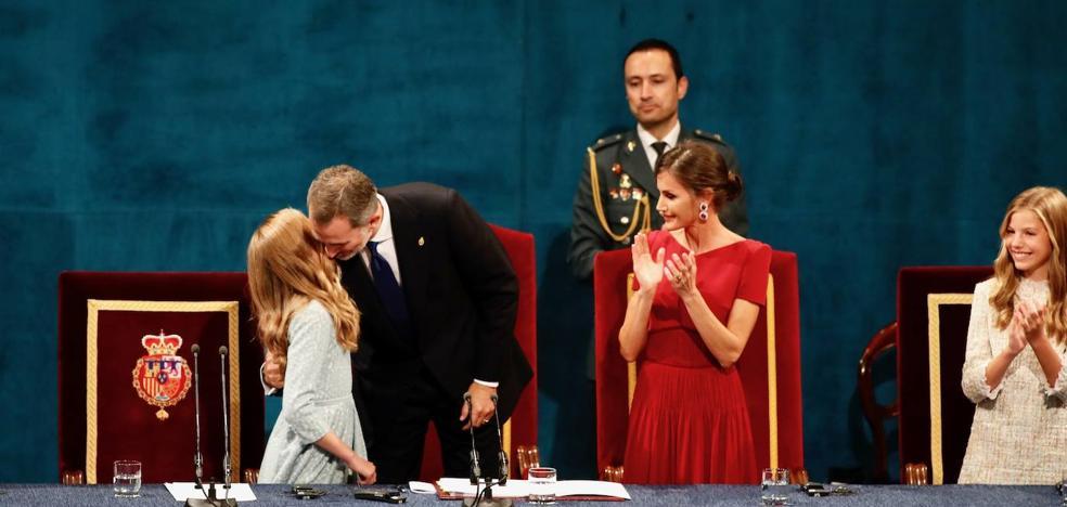 Premios Princesa de Asturias | Princesa Leonor: «Yo llevo sangre asturiana»