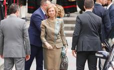 Premios Princesa de Asturias   La Reina Sofía llega a Asturias para asistir a la ceremonia