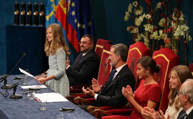 Premios Princesa | La Princesa sella su compromiso con España entre aclamaciones