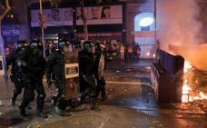 Directo | Cargas policiales en la sexta jornada de protestas en Cataluña
