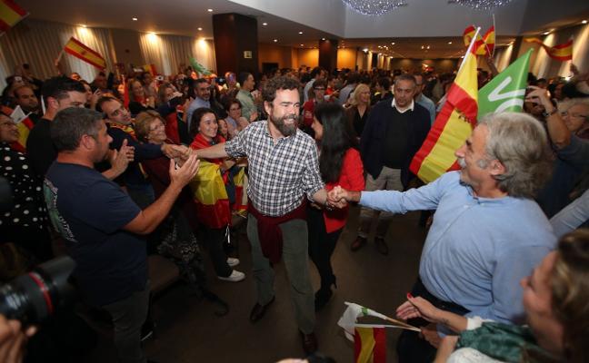 Vox pide ilegalizar Andecha Astur