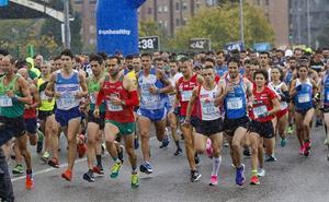 Javier Benito e Irene Loizate vencen en los 10 Kilómetros de Gijón