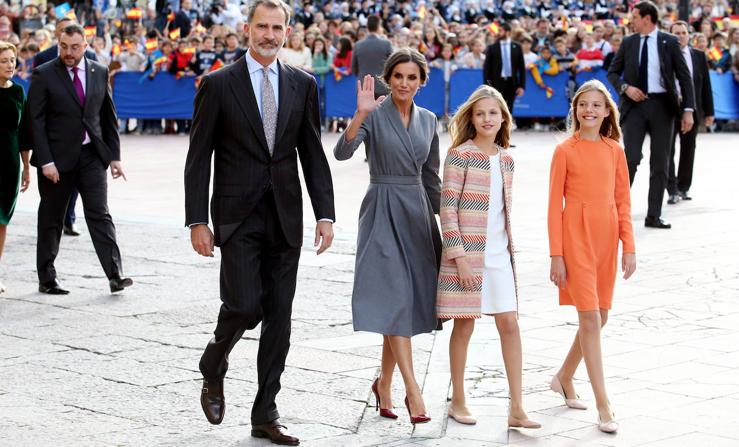 Los looks de la Familia Real durante su estancia en Asturias