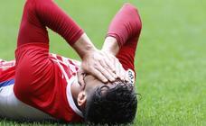 Sporting B 0-1 Vetusta, en imágenes