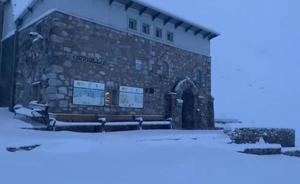 Llegan a Asturias las primeras nieves del otoño
