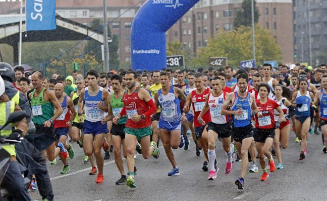 Javier Benito se corona en los 10 kilómetros de Gijón